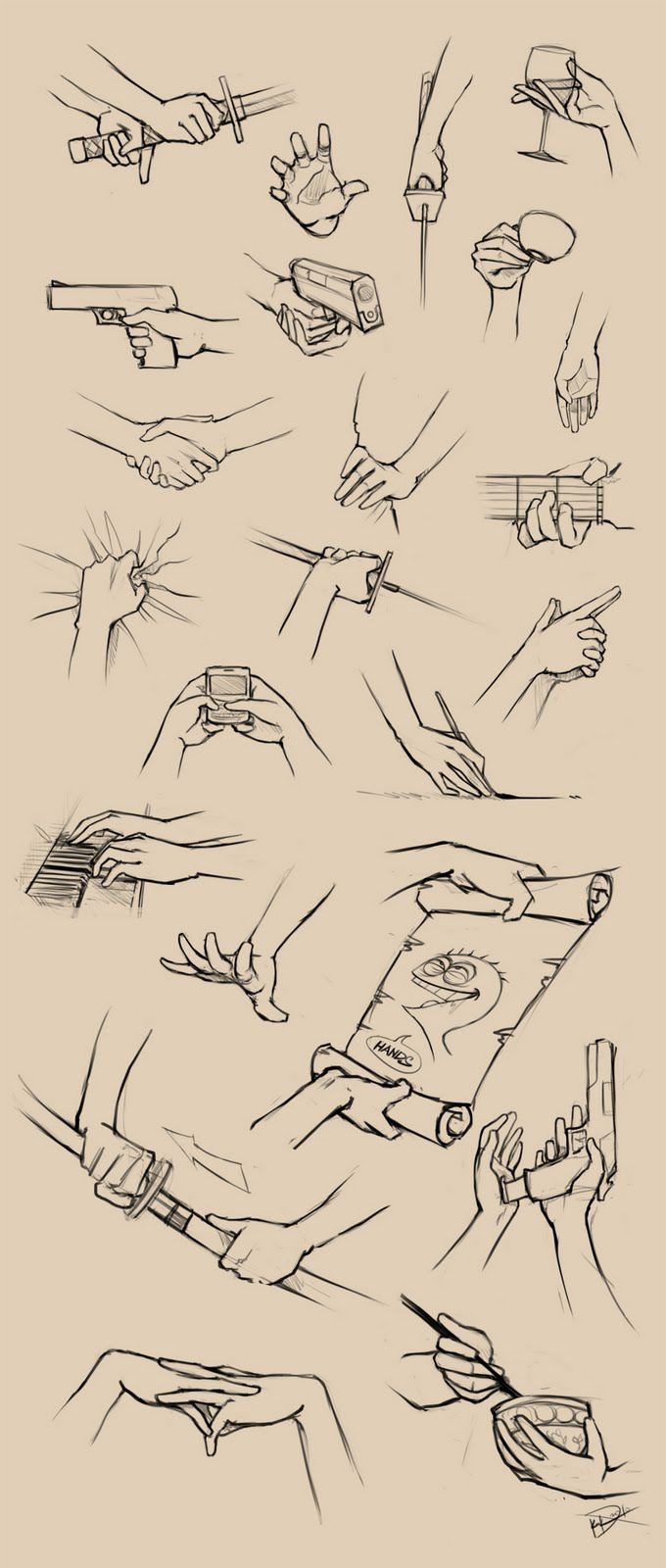 680x1600 How To Draw Hands Gripping Bunch Of Things. I Love How Cheese