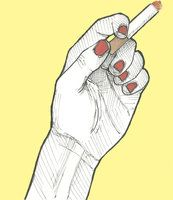 173x200 Hand References For Drawing Cigarettes In Hand Human Form