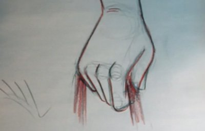 400x255 How To Draw A Clenched Hand The Simple Way