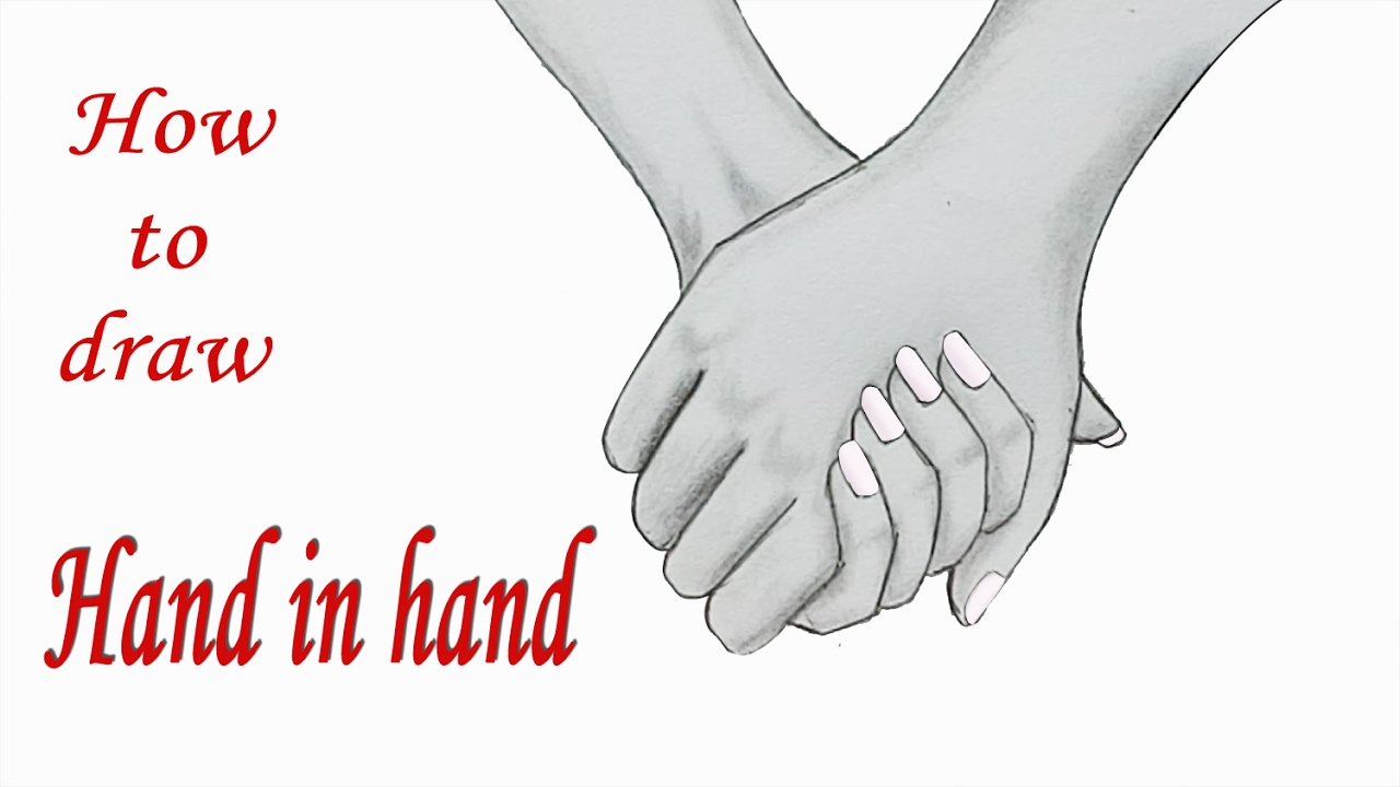 1280x720 How To Draw Hand In Hand Step By Step (Very Easy)
