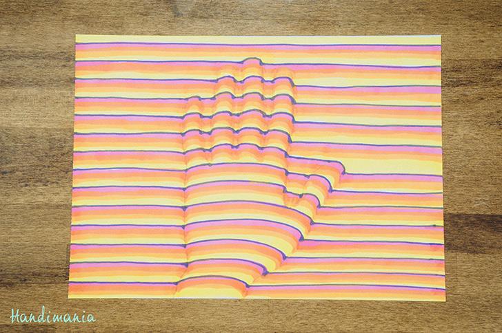 728x484 How To Make 3d Handprint