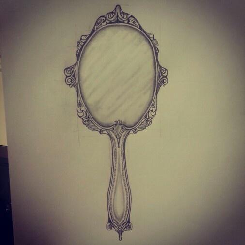 506x506 Little Mirror Sketch