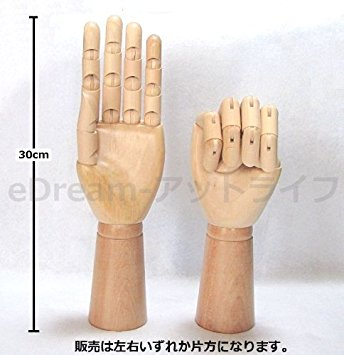 344x355 Wooden Hand Model Drawing Hand Model Interior Ring Hand [Man