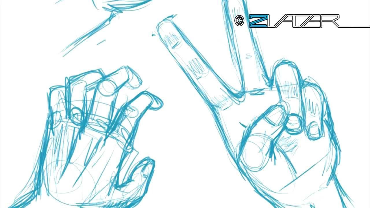 1280x720 How To Draw Peace Hand Drawn Peace Sign Anime Hand