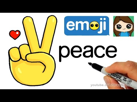 Hand Peace Sign Drawing At Getdrawings Free For Personal Use