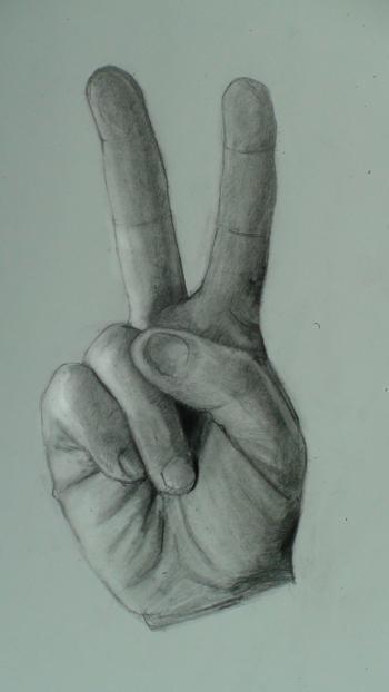 350x622 Peace Hand Symbol Artcrafts Peace, Symbols And Craft