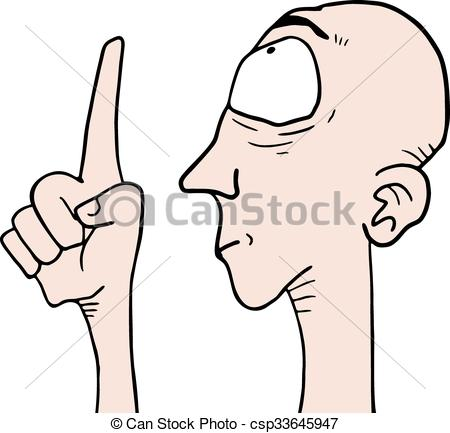 450x433 Creative Design Of Man Pointing Draw Eps Vector