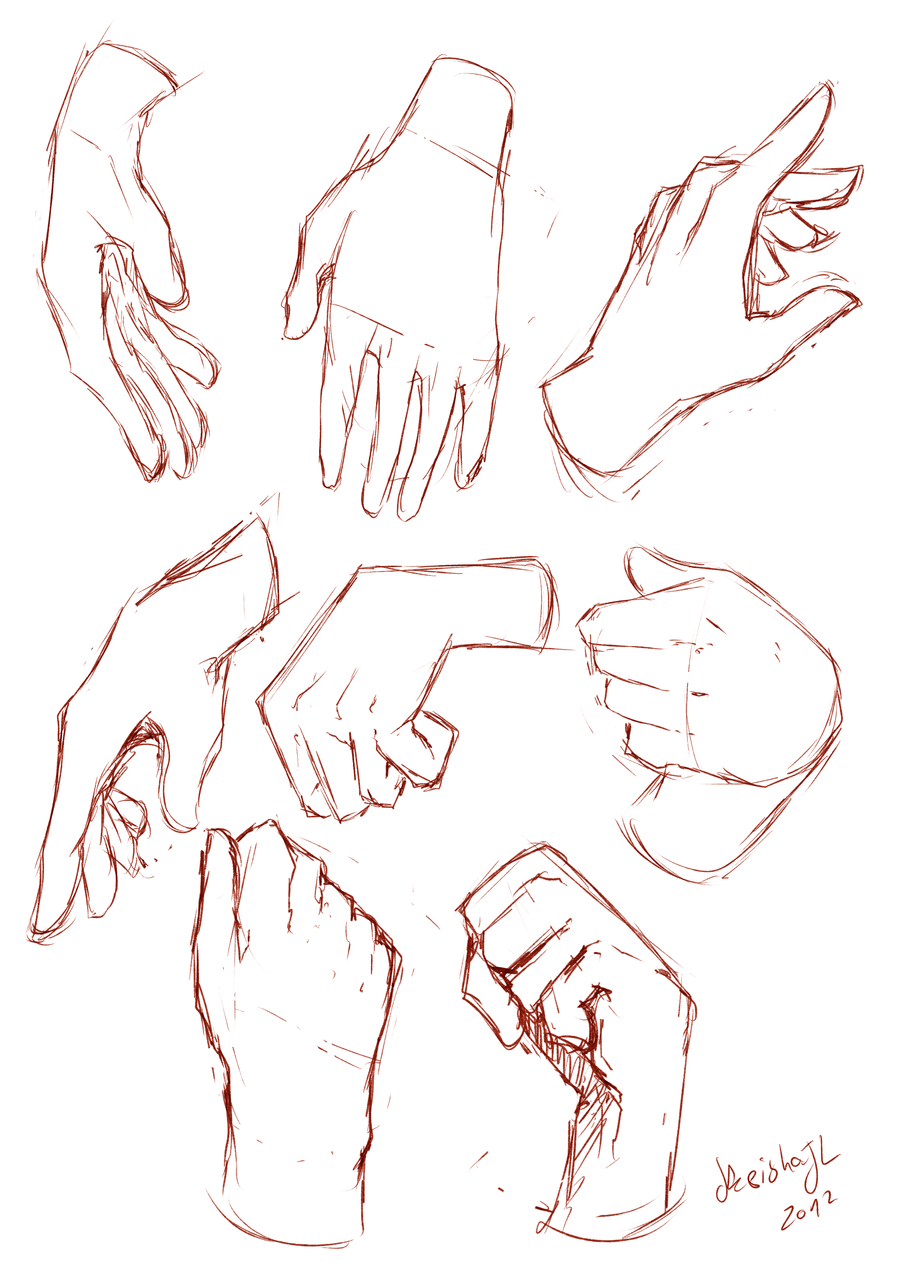 900x1273 Hands Sketches By Keishajl