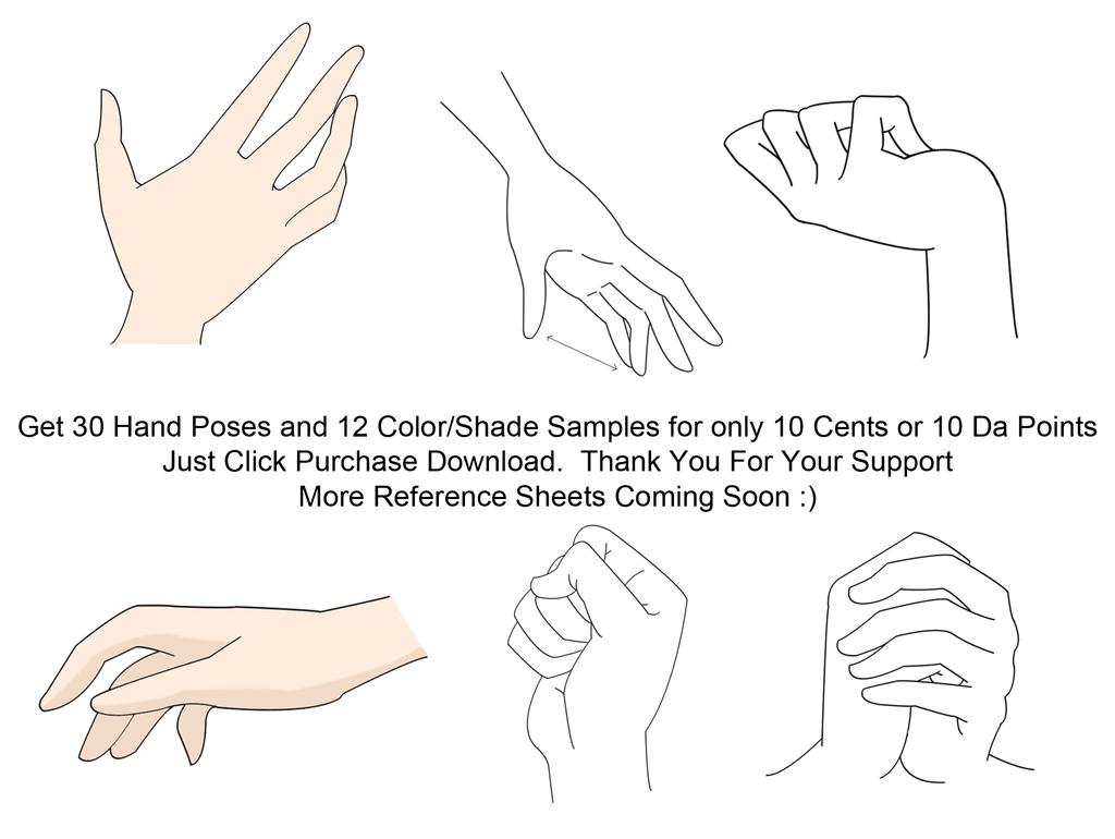 1024x770 30 Anime Hands