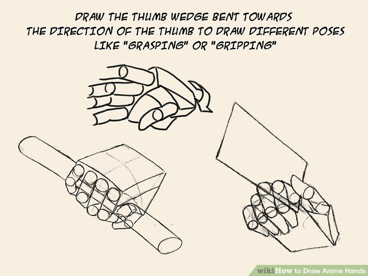 Grasping Hand Positions