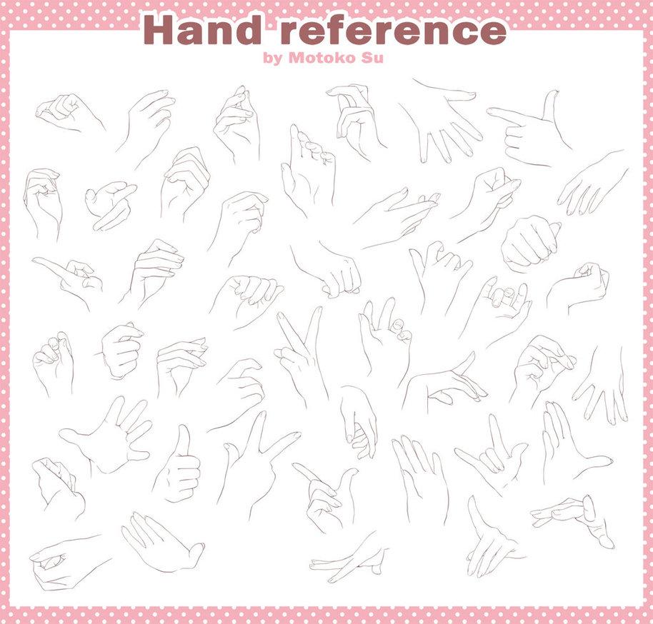 914x874 Hand Draw Reference Free By Motoko Su