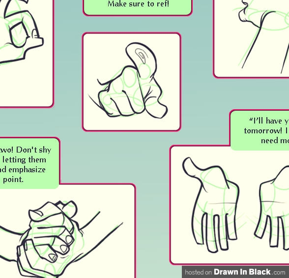 588x565 How To Draw Hands 35 Tutorials, How To'S, Step By Steps, Videos