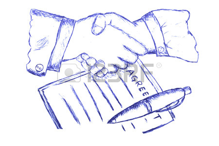 450x301 Two Hand Shaking After Make A Business Agreement Royalty Free