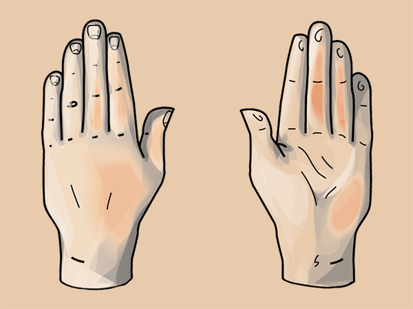 600x449 Quick Tip How To Draw A Hand Based On Geometric Shapes
