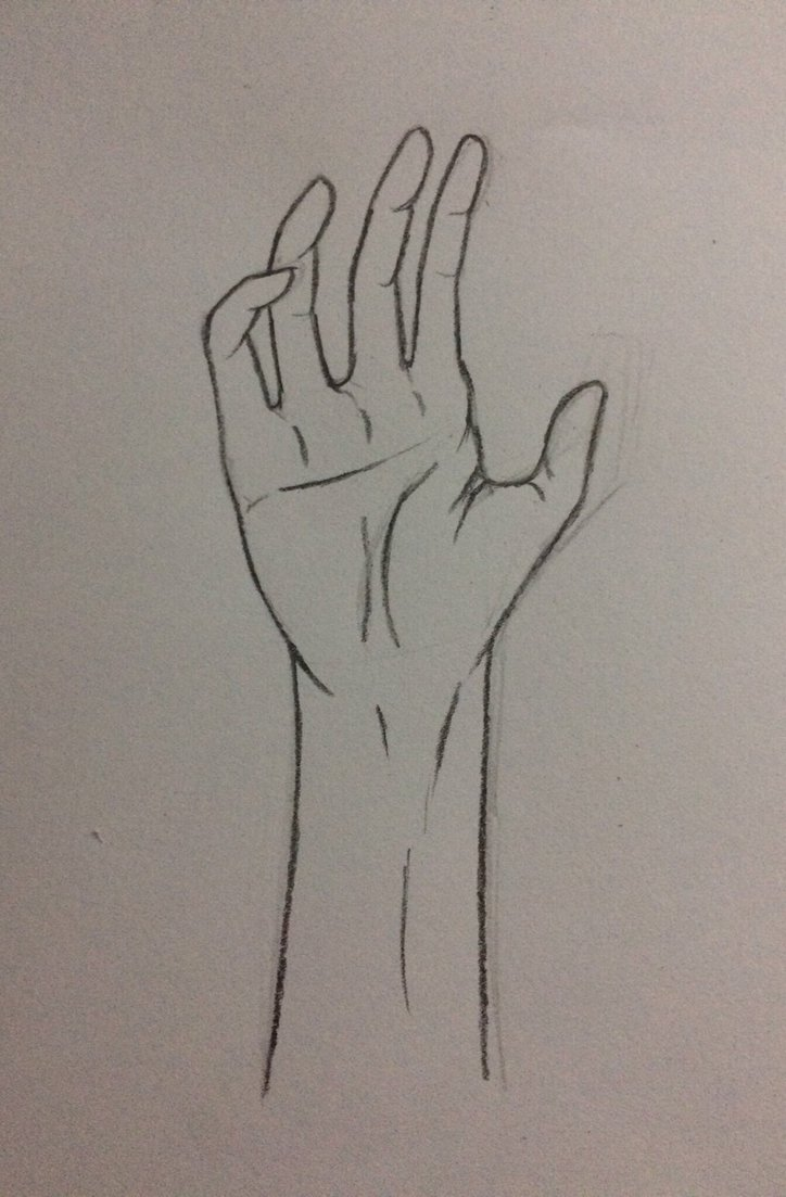 724x1103 Simple Hand Sketch By Rabblerousy