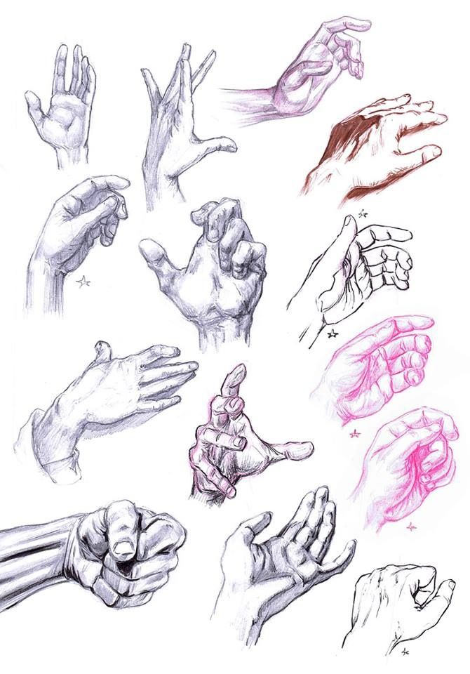 670x960 A Glamorous Fuck Ton Of Hand References. [From Various Sources