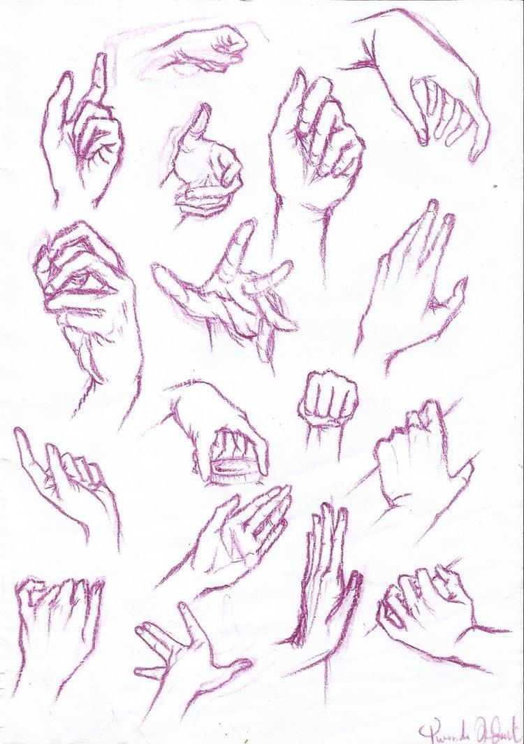 750x1064 Anatomy Study Hands By Yuuyumori