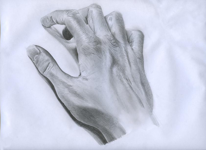 842x612 Hand Study Drawing By Jonatan91