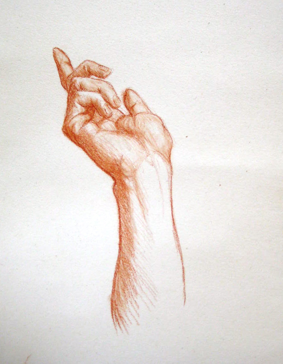 904x1161 Sanguine Drawing Matthew James Collins