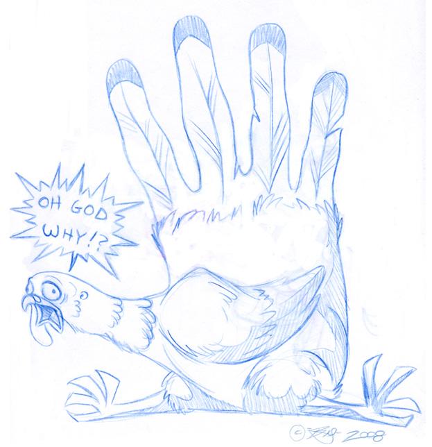 623x644 Hand Turkey By Tarkheki