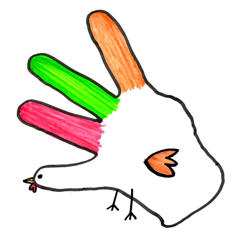 1000x1000 I Want To Draw A Hand Turkey But I Ain'T Got No Thumb