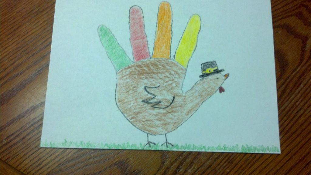 1024x577 Make A Hand Turkey 7 Steps