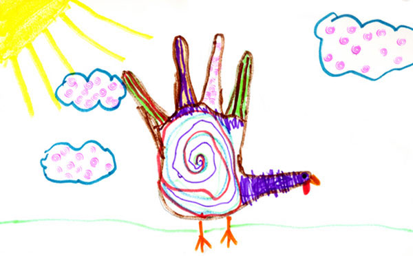 600x372 Second Annual Hand Turkey Drawing Contest Winners