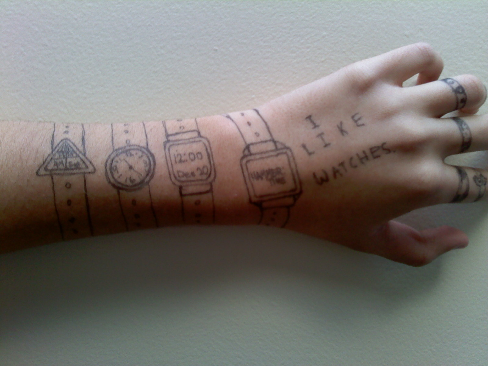 1600x1200 Draw On Your Handarm! Let's Make A Drawing
