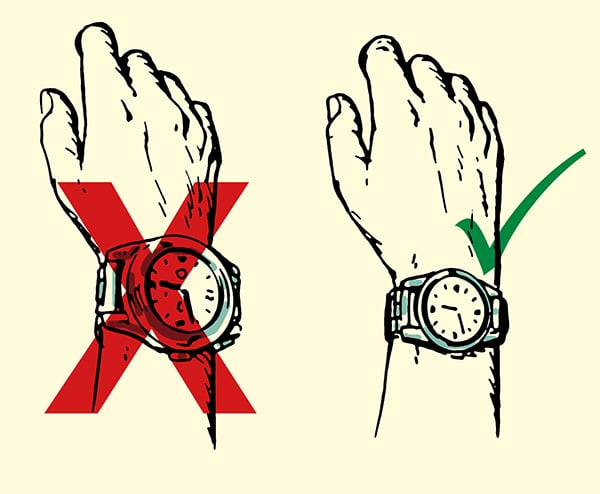 600x494 How To Choose A Man's Wristwatch The Art Of Manliness