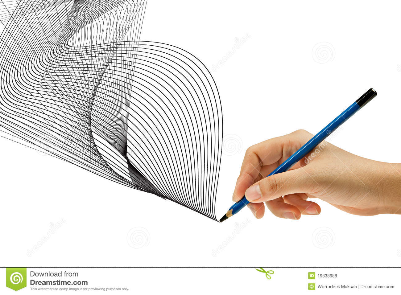 1300x957 Hand With Pencil Drawing Drawing With Pencil In Hand Stock Photo