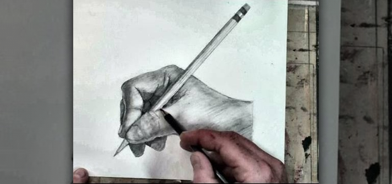 1280x600 How To Sketch A Human Hand Holding A Pencil Drawing Drawing