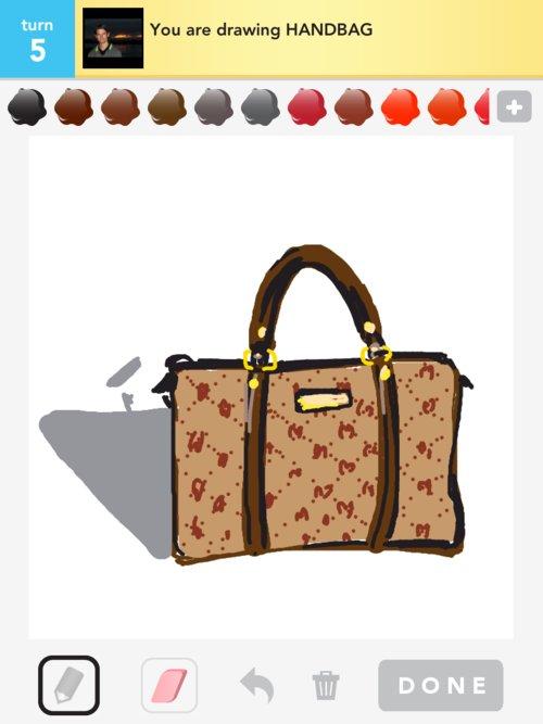 500x667 Handbag Drawings