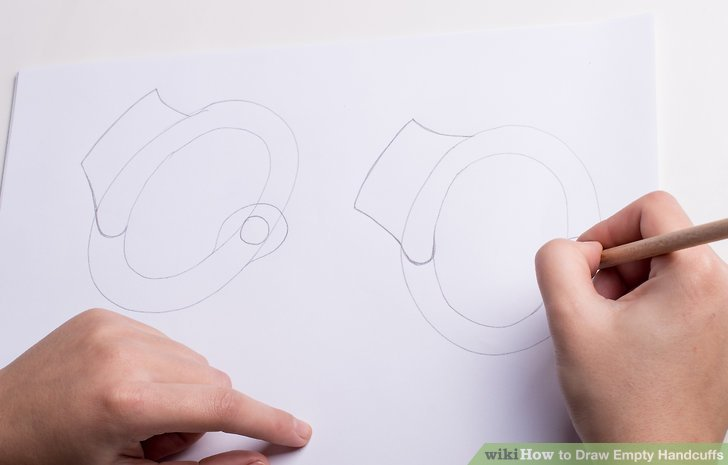 728x465 How To Draw Empty Handcuffs (With Pictures)