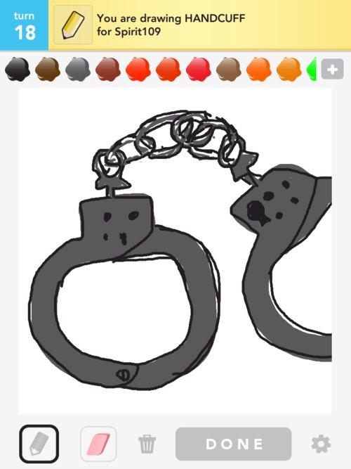 500x667 Handcuff Drawings