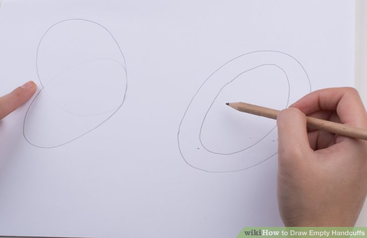 728x472 How To Draw Empty Handcuffs (With Pictures)