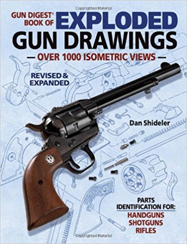 383x499 The Gun Digest Book Of Exploded Gun Drawings