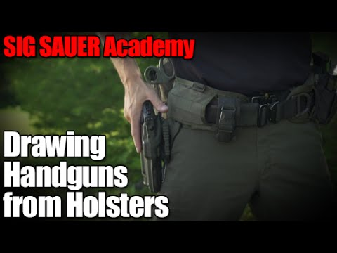 480x360 Drawing Handguns From Holsters
