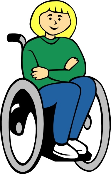 378x589 Girl In Wheelchair Clip Art Free Vector In Open Office Drawing Svg