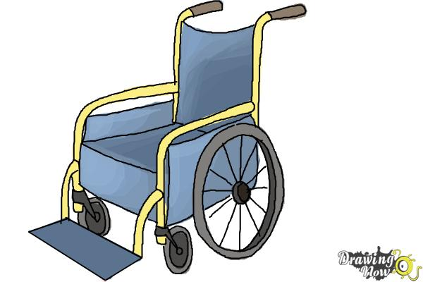 600x400 How To Draw A Wheelchair