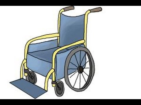 480x360 How To Draw A Wheelchair