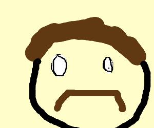 300x250 Handlebar Moustache (Drawing By Isaac Wan Lum)