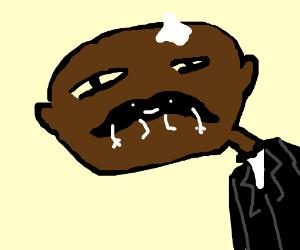 300x250 Bald Black Guy With Handlebar Mustache