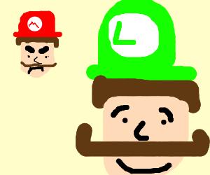 300x250 Mario Is Mad Cus Luigi Has Handlebar Mustache