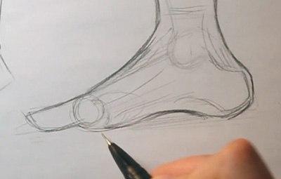 400x255 Drawing Feet