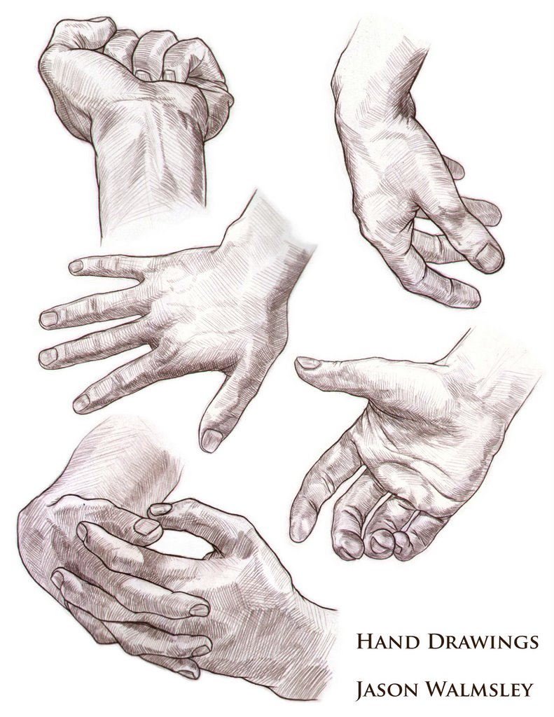 791x1024 Drawings Of Hands And Feet
