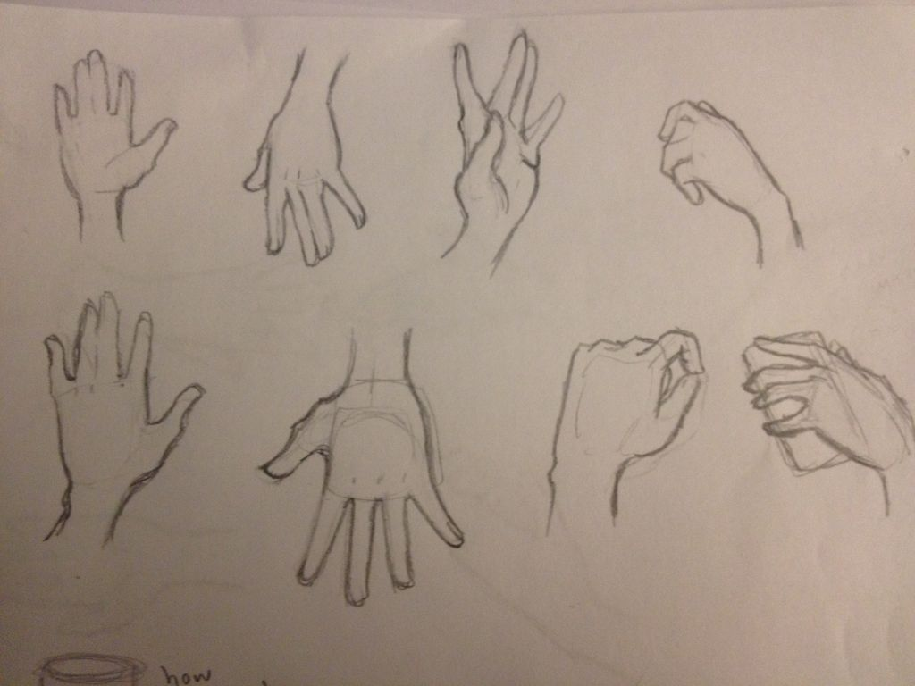 1024x768 Drawing Hands The Simple Way 8 Steps