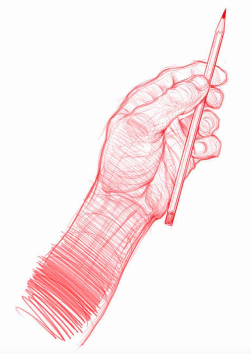 505x711 Drawing Hands, Arms And Elbows
