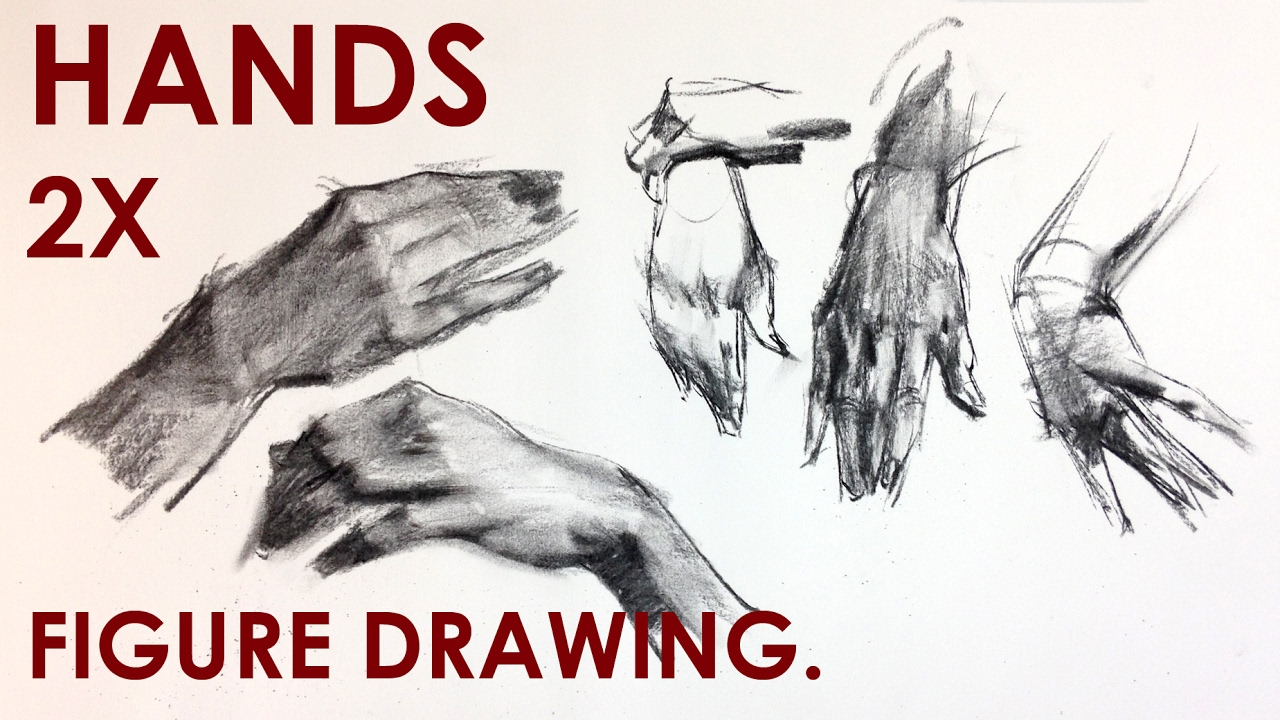 1280x720 How To Draw Hands For Figure Drawing.