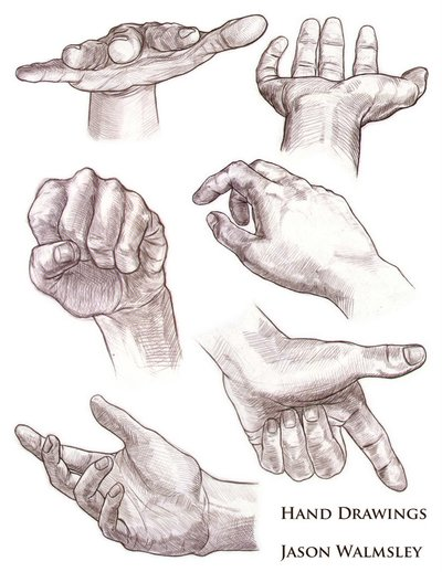 400x518 Drawing Expressive Hands