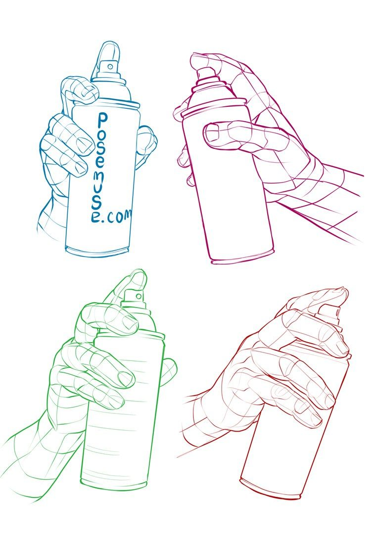 762x1080 Manos Con Spray Hands For Drawing Drawings